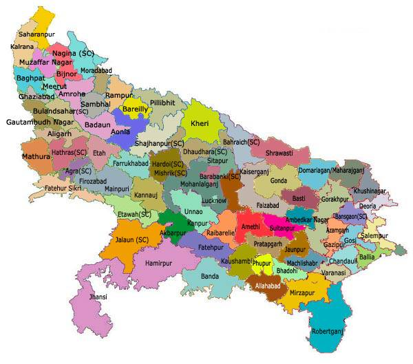 Uttar Pradesh Parliamentary Constituencies
